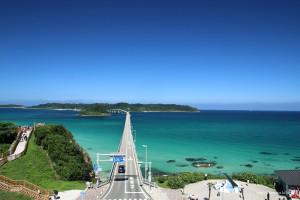 角島大橋 フリー写真