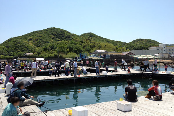 小物釣りの釣り場