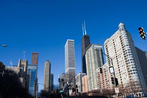 シカゴ(Chicago)の街並み