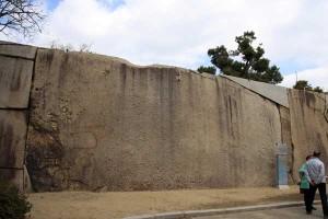 大阪城の蛸石
