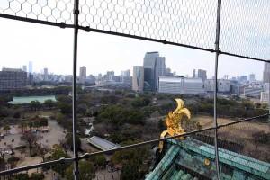 大阪城天守閣 展望台からの風景
