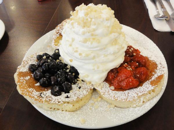 Eggs 'n Things(エッグスン シイングス)のパンケーキ