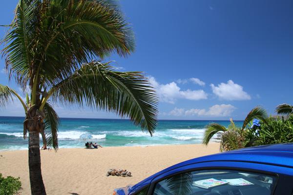 サンディービーチは、サーファー憧れのビーチ