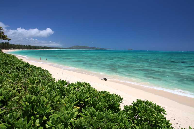 カイルアの観光スポット!カイルアビーチは施設が充実、ファミリーにオススメ
