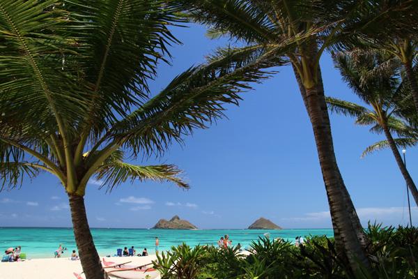 ラニカイ・ビーチ(ハワイ オアフ島)
