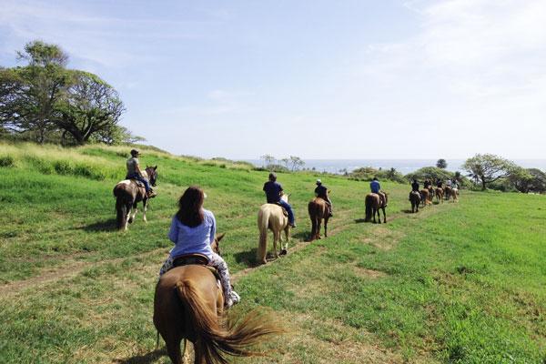 ハワイ クアロア・ランチ(クアロア牧場)の乗馬、カネオヘ湾クルーズの体験記
