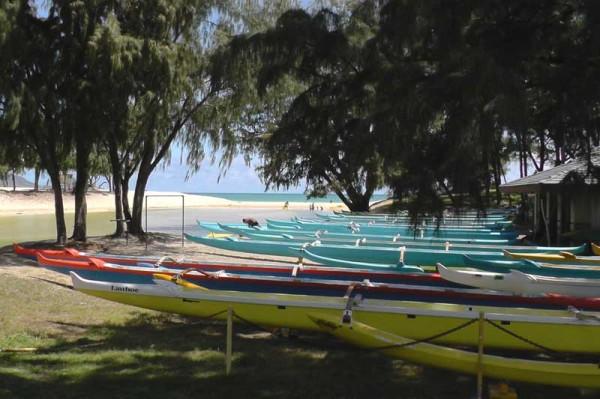 カイルアビーチの人気アクティビティはカヤック