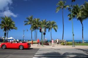 ワイキキビーチ フリー写真