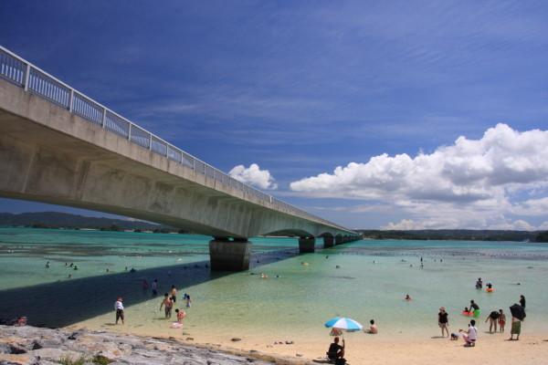 古宇利大橋にある絶景ビーチ