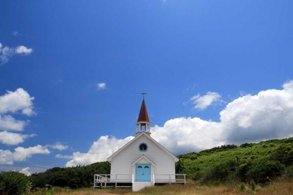 映画「4日間の奇蹟」のロケセット(礼拝堂)