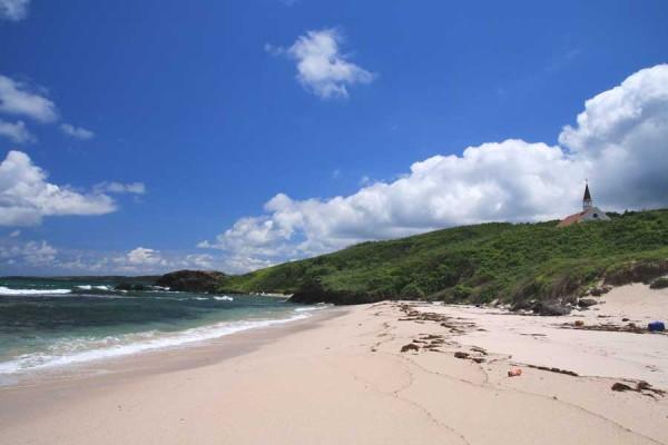 角島 大浜海水浴場 コバルトブルーの海が美しい!