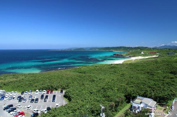 角島灯台の見晴らし台からの眺めは最高!