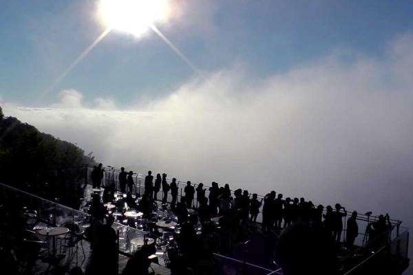 星野リゾートトマムの雲海