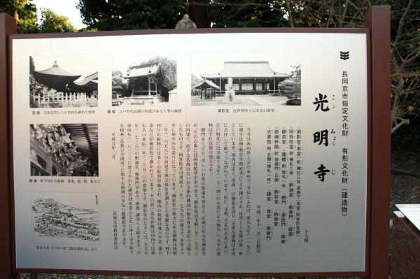 京都 光明寺の紅葉