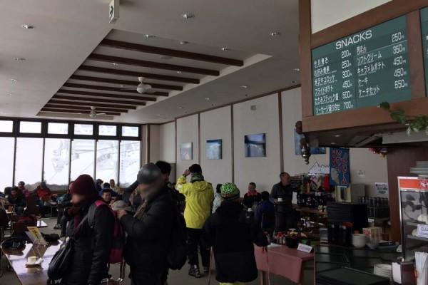レストラン山頂(雲の上の絶景レストラン)
