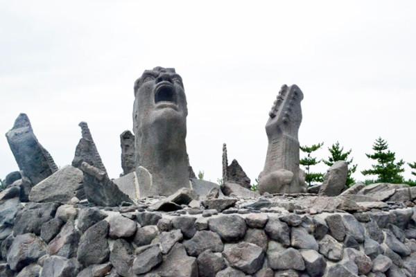 長渕剛さんファン必見 赤水展望広場・叫びの肖像