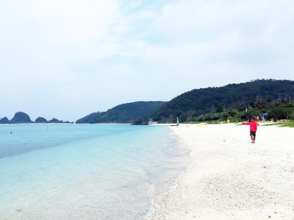 阿真ビーチ(座間味島)
