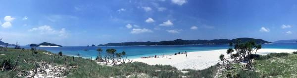 安慶名敷島のパノラマ写真