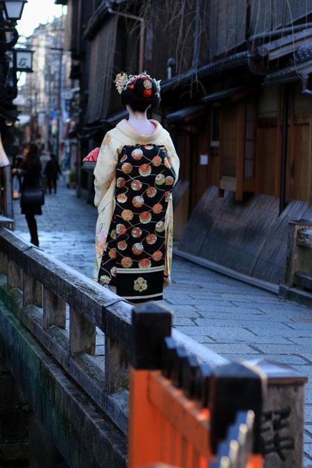 舞子体験で京都散歩