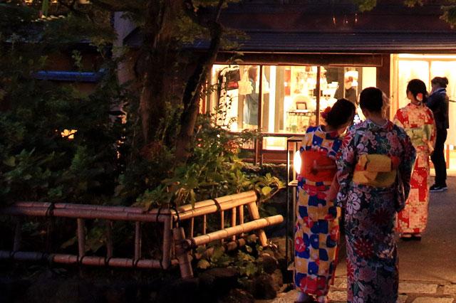 レンタル着物で京都散歩
