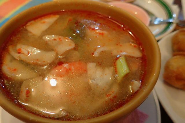 トムヤムクン Tom yum goong(タイ料理)