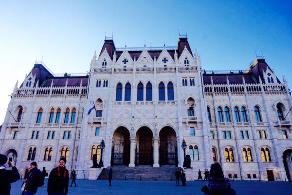 国会議事堂 ブダペストのシンボル