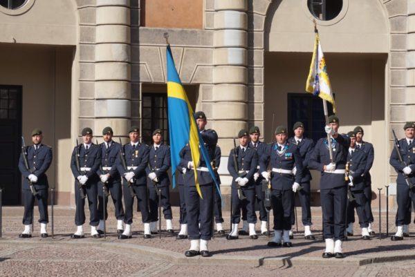 ストックホルム王宮の衛兵交代