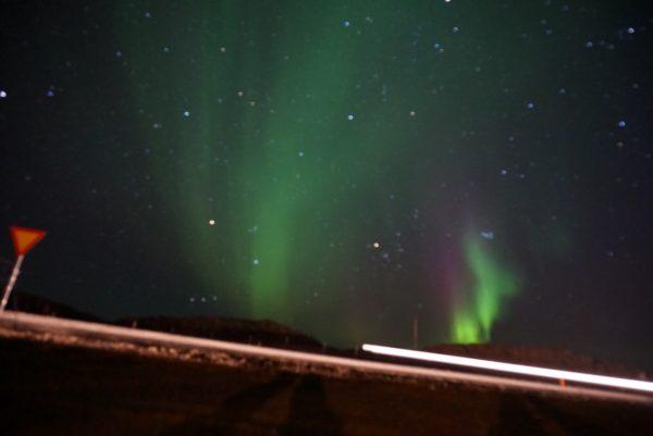 オーロラ アイスランド