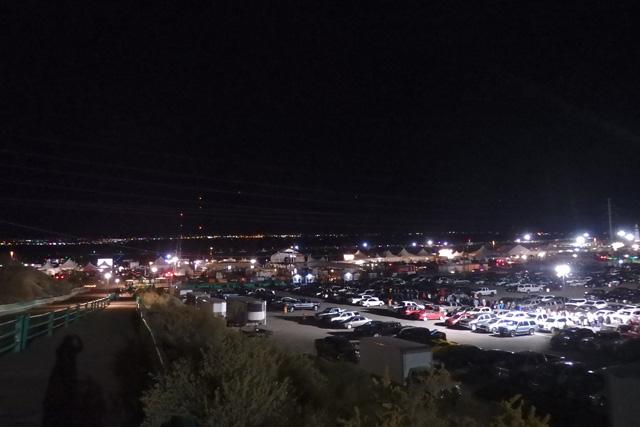 アルバカーキ バルーンフェスティバル駐車場