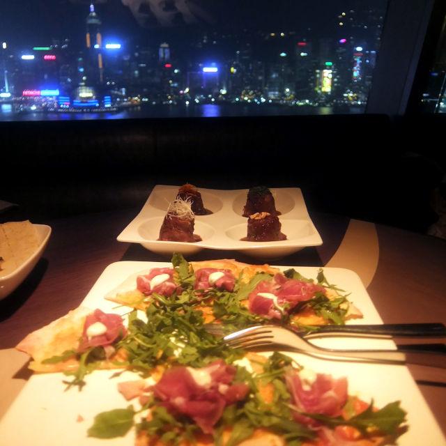 香港アクア(レストラン) 料理は、日本食とイタリア料理がメイン
