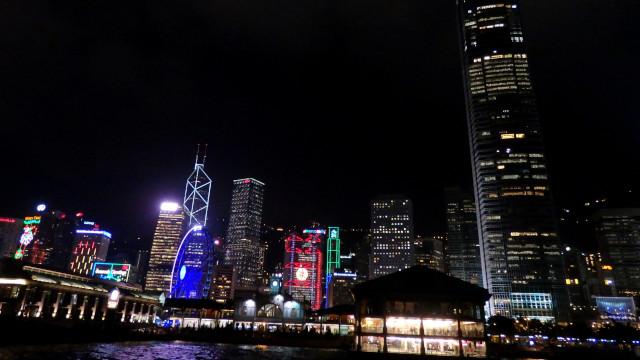 香港 夜のスターフェリー