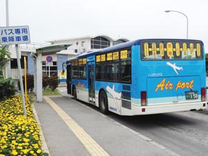 石垣島空港離島ターミナルを結ぶバス
