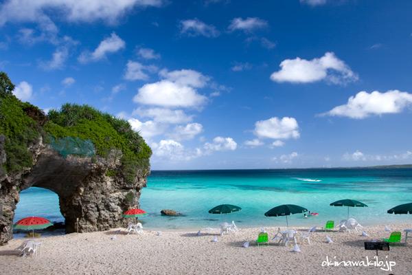 砂山ビーチは、宮古島のオススメ観光スポット