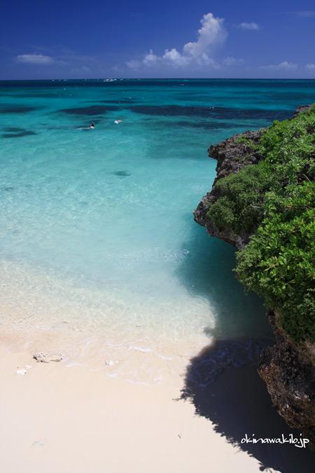 池間島のビーチ 宮古島の観光スポット