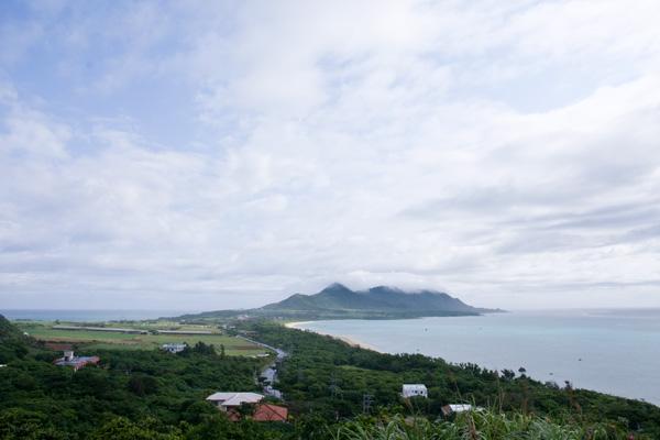 玉取崎展望台からの眺め(石垣島)