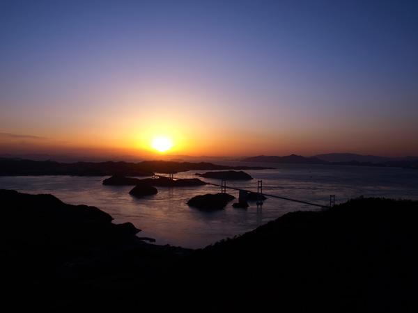 しまなみ海道の夜景